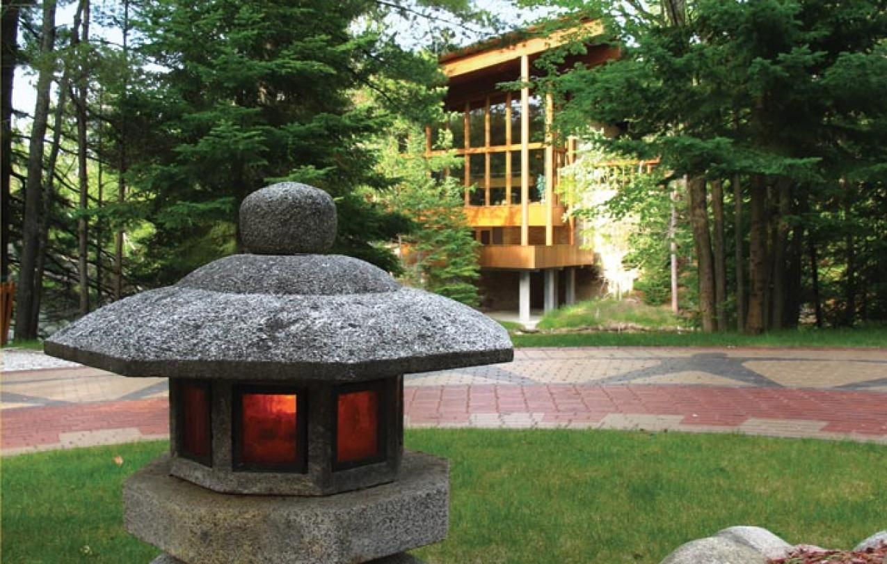 UAW Memorial Walkway and Eternal Flame